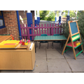 Fine motor and writing in the garden