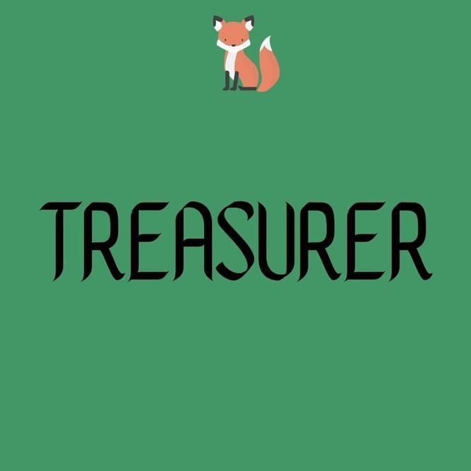 Treasurer - Sam Huckfield-Baker