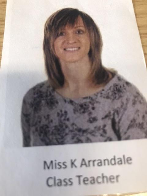 Miss Kate Arrandale - Co-opted Staff Governor