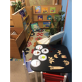 Phonics and reading area
