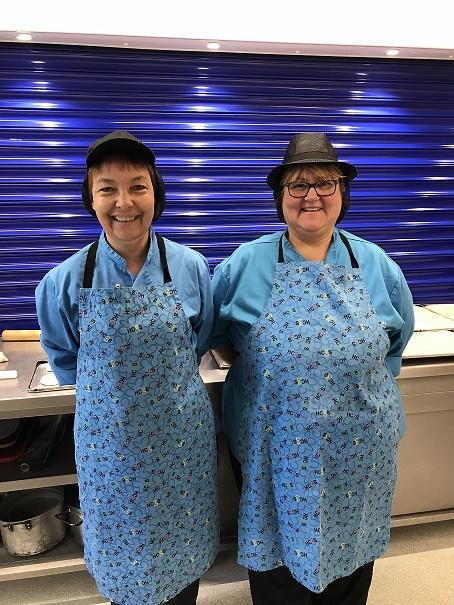 HC3S Catering Team - Mrs Pilton & Mrs Hill