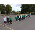 Fab lining up-space for our invisible pupil too!