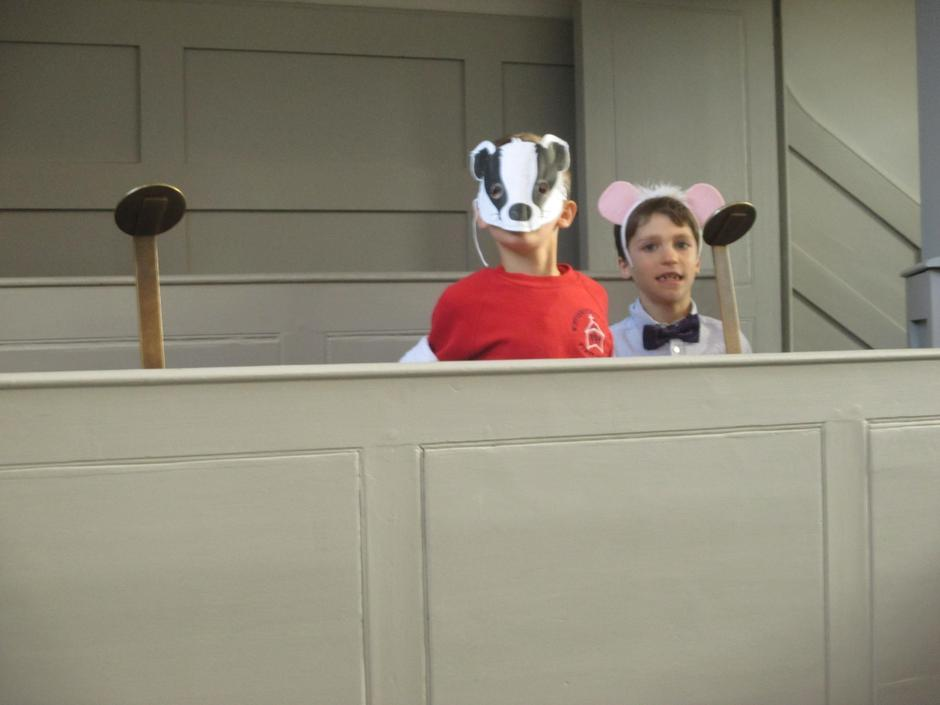 Badger & Rat (Cast 2)