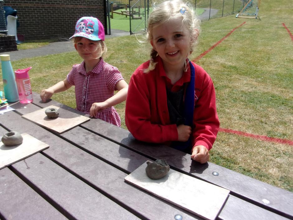 Clay pot making