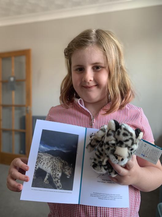 Mollie's Snow Leopard