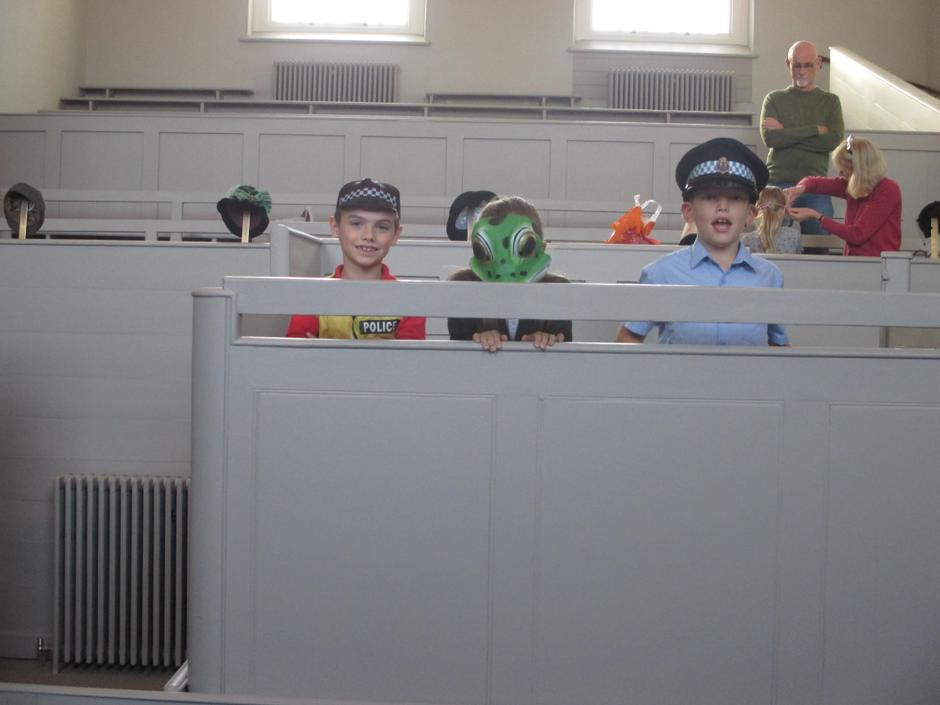 Police Officer 1 & 2 and Toad (Cast 1)
