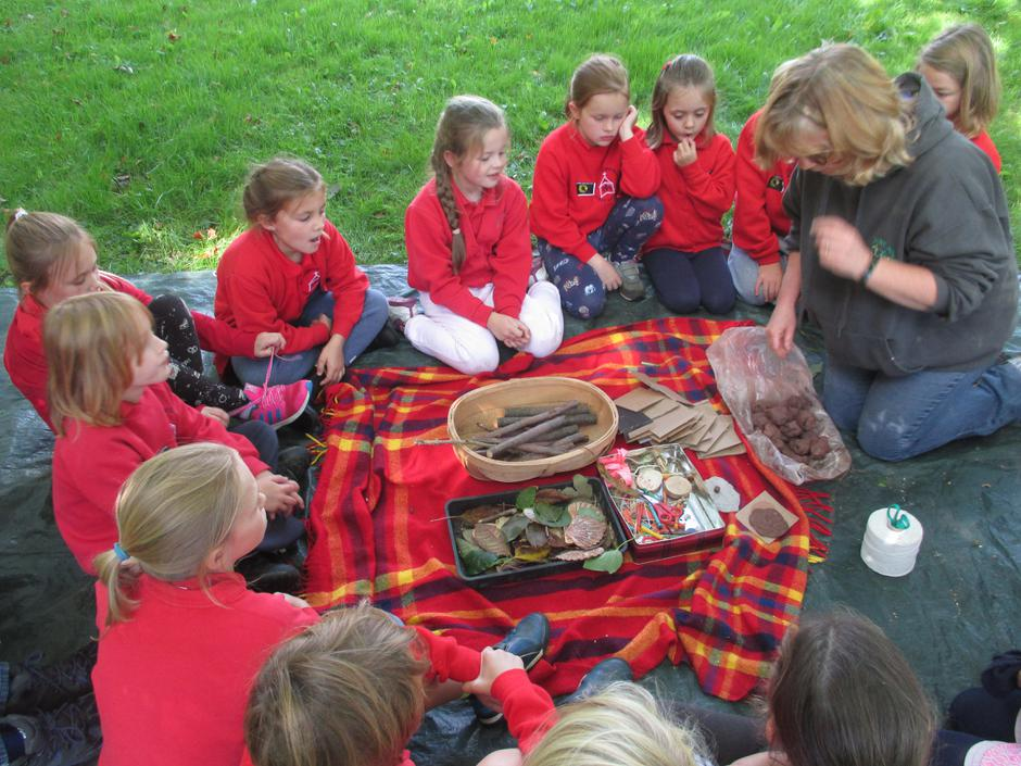 Working with clay in forest schools