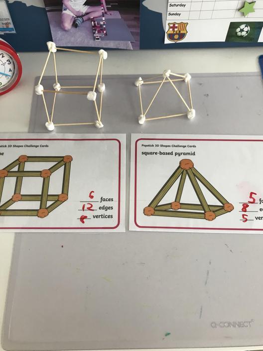 Benjamin's 3D shapes
