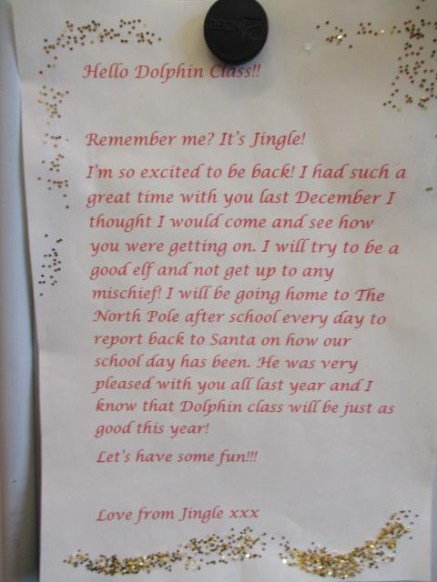 A LETTER FROM THE ELF