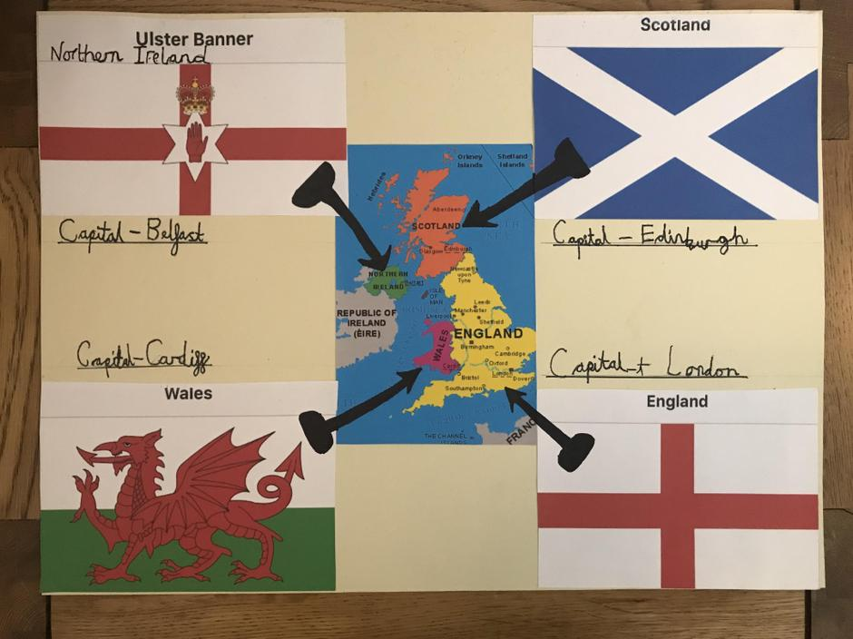 Some more great geography work from William!