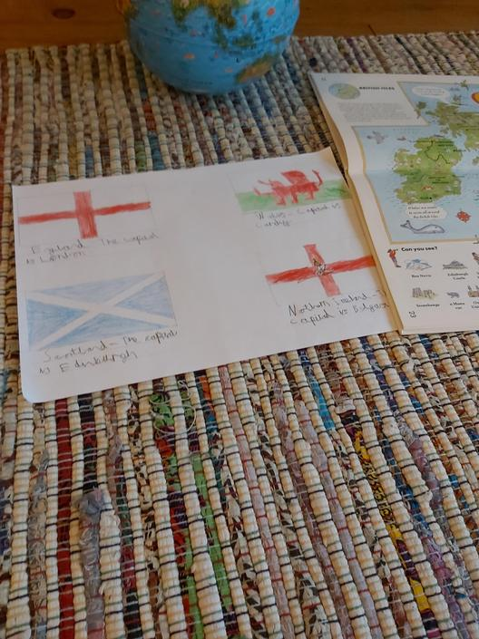 Excellent flags by James!