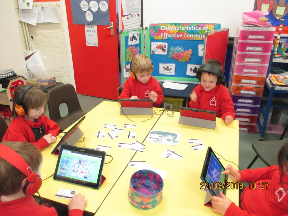 Using our new tablets