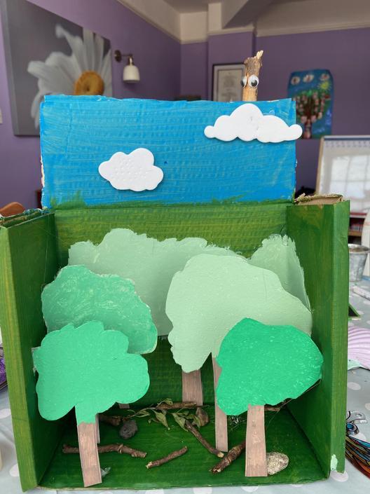 Daisy's Rainforest Art