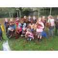 An Autumn walk to help us write our Autumn poems