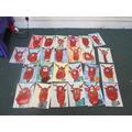 Our reindeer gallery... super artwork Wrens!