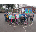 Our Scoot-a-thon! Well done Wrens!