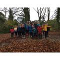 On our Autumn Scavenger Hunt