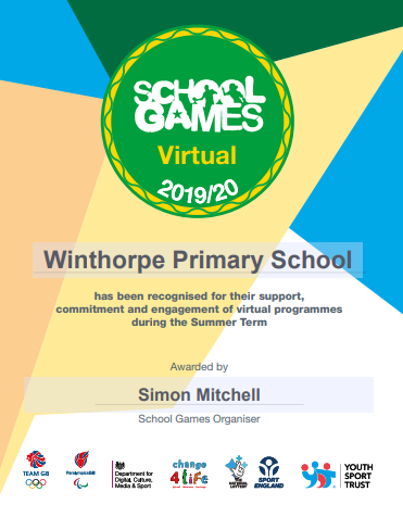 School Games Virtual Summer 2020