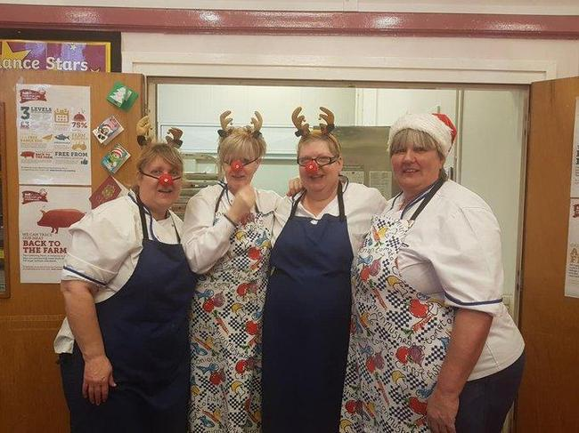 The Kitchen Staff at Christmas 2019
