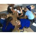 Team work on the magic carpet