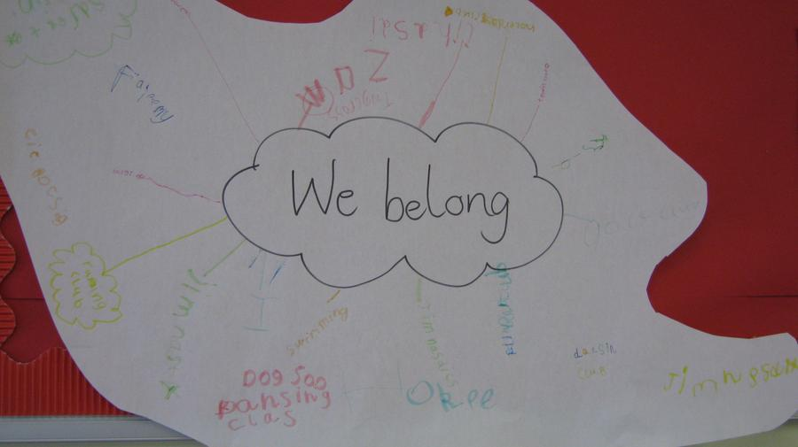 We have discussed communities we belong to and people in our different communities