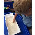 Secret flour symbols