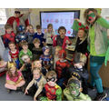 Superhero and story characters