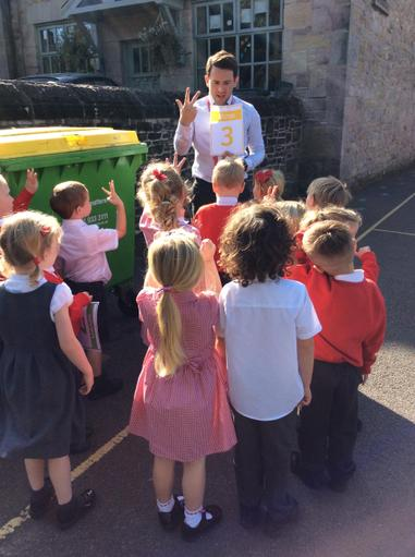 Number Hunt with Mr Tooby
