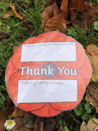 Thank you poppies