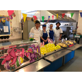 Our marvellous kitchen staff