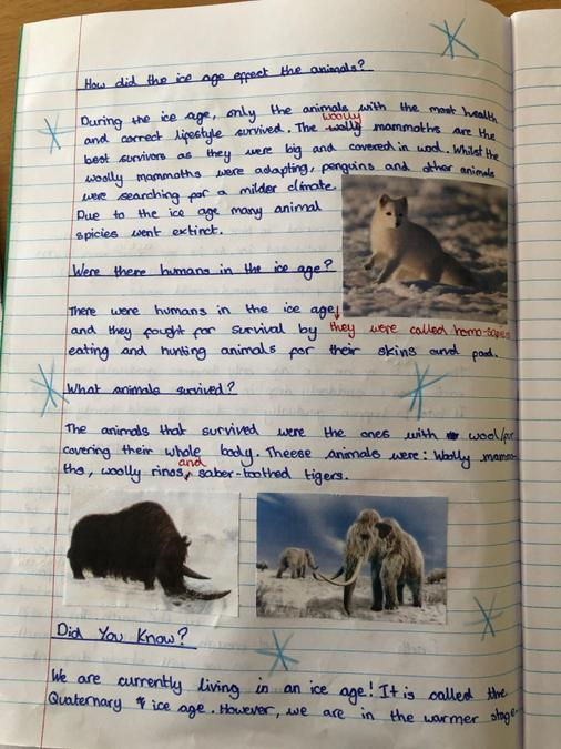 Penelope's Ice Age explanation page 2