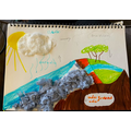 Liam's model of the water cycle