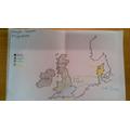 Super Anglo-Saxon invasion map work