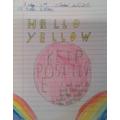 Hello Yellow poster