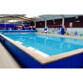 Learn to swim in our indoor swimming pool.