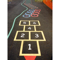 Fancy a game of hopscotch?