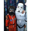 Tim Peake & friend visited from Space Centre