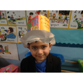 A great hat Mr Strong!