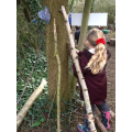 The Gruffalo Walk in our Forest School Area
