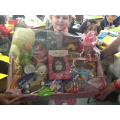 Our winner of the Raffle Prize donated by Asda.