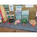 Some of the year 3 entries for the Easter Bonnets!