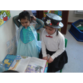 Older children reading to younger ones