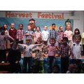 Farmers and scarecrows