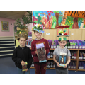 Our Easter Bonnet competition winners.