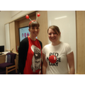 Dressing up for Comic Relief