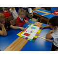 Children playing the Tudor Game they designed