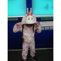 A magical unicorn