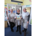 Children & staff dressed as characters from books