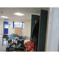 Refurbishment of classroom for third Year 5 class