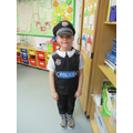 Thank you to the police force
